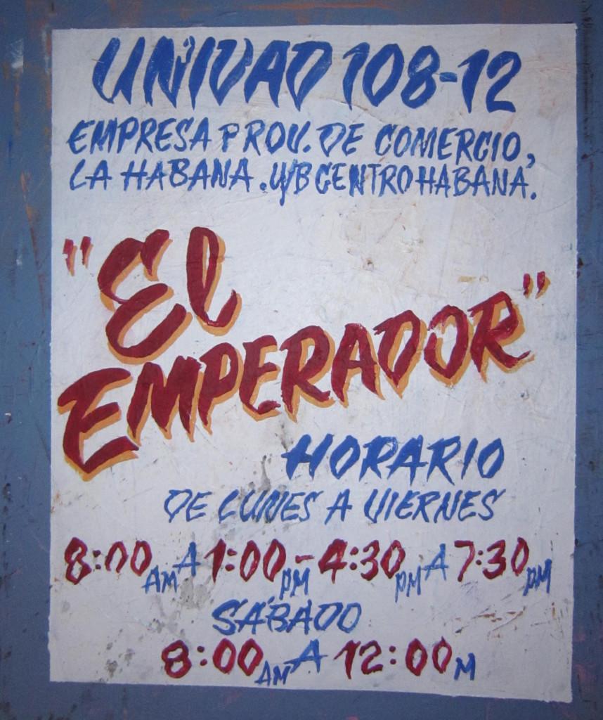 El Emperador _  Orlando Lazaro Ortega